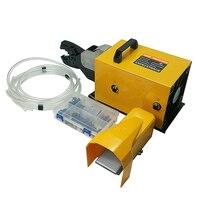 AM 240 Сверхмощный Пневматический обжимной инструмент обжимные плоскогубцы с ножной переключатель 6 240mm2 кабельные наконечники и наконечники