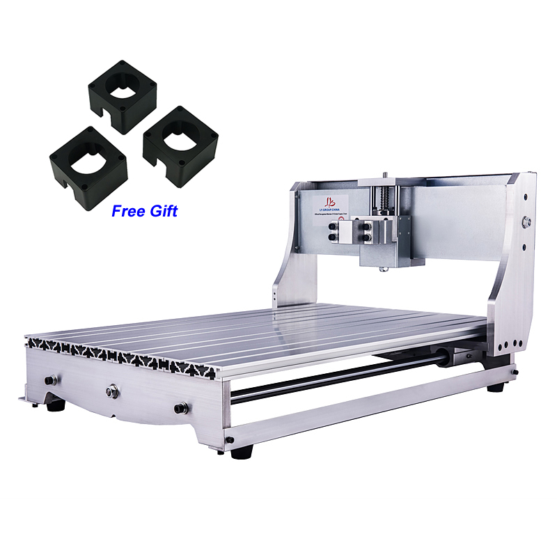 CNC 6040 DIY CNC Frame Lathe Kit of Milling Engraving Machine with Ball Screw 1605 aluminum lathe body cnc 6040 router 1605 ball screw cnc frame kit diy cnc engraving machine