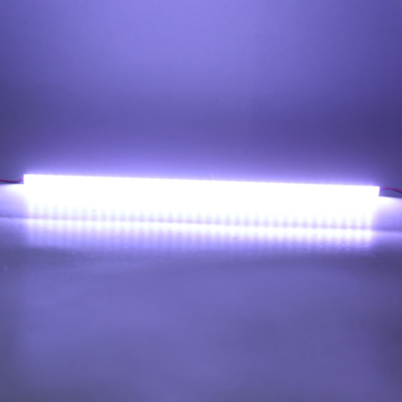 Super Bright 50cm IP68 9W SMD 7020 36LED White LED Rigid Strip Swimming Pool DC 12V