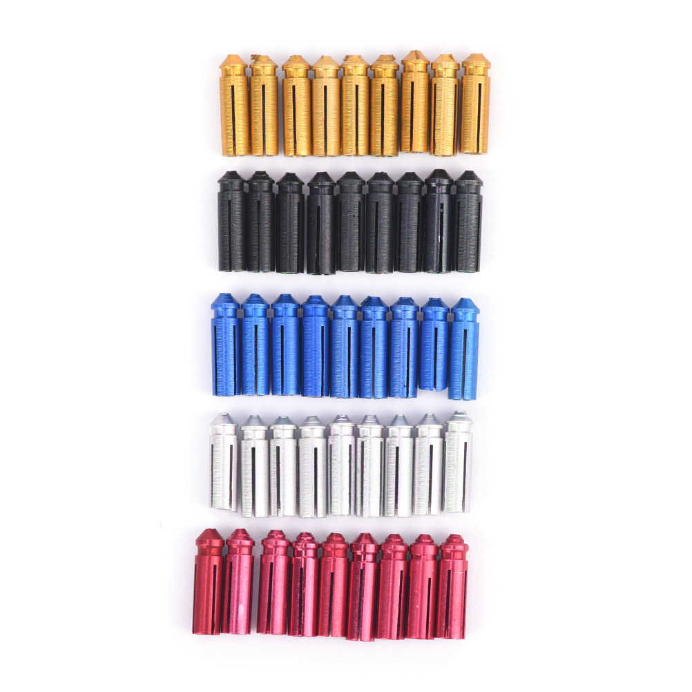 9PCS Aluminum Alloy Dart Flight Protector Hunting Flight Tool Part Dart Accessories 5Colors