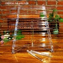 Новая Обновленная Хрустальная арфа пение с красивым и идеальным звуком CDEFGAB note 432 Гц или 440 Гц с бесплатной коробка из алюминиевого сплава