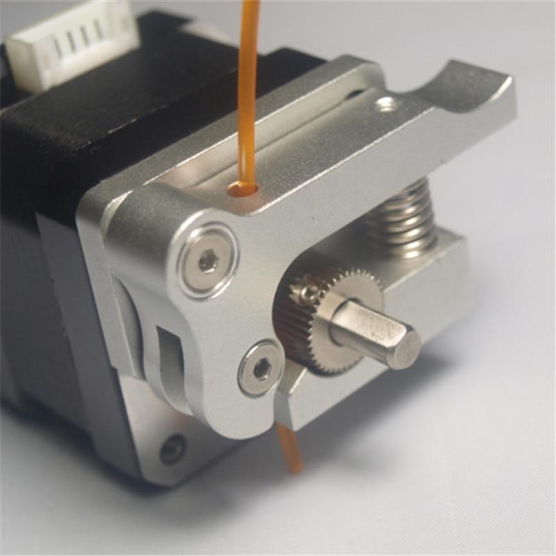 Funssor Wanhao/flashforge 3D Printer parts aluminum metal MK9 Extruder Upgrade pack right hand