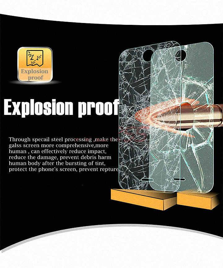 Ekran ze szkła hartowanego futerał ochronny do Acer Liquid Z220 Z320 Jade S Z folią Zest X2