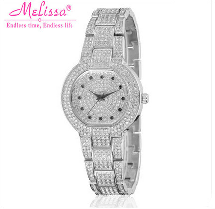 MELISSA New Stylish Women Vintage Bracelet Watches Luxury Full Crystals Dress Wrist watch Japan Quartz Reloj Montre Femme F8046MELISSA New Stylish Women Vintage Bracelet Watches Luxury Full Crystals Dress Wrist watch Japan Quartz Reloj Montre Femme F8046