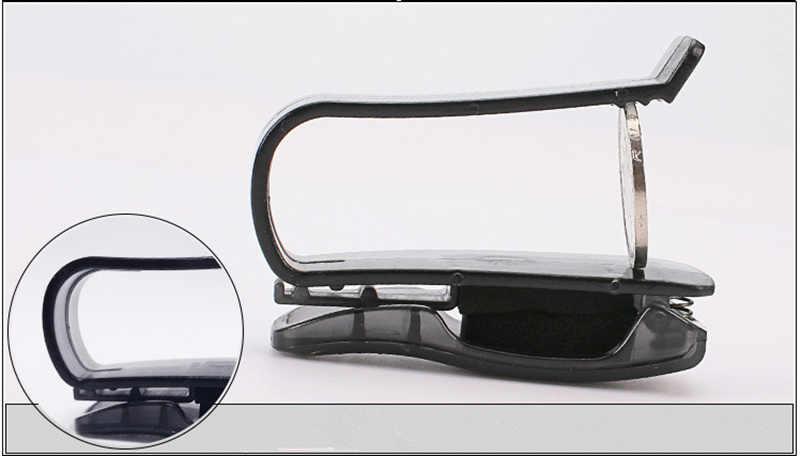 Acessório do carro Pala de Sol Óculos De Sol Óculos Clipe Bilhete Titular Suporte para Kia Rio K2 K3 K4 K5 KX3 KX5 Cerato, soul, Forte, Sportage R