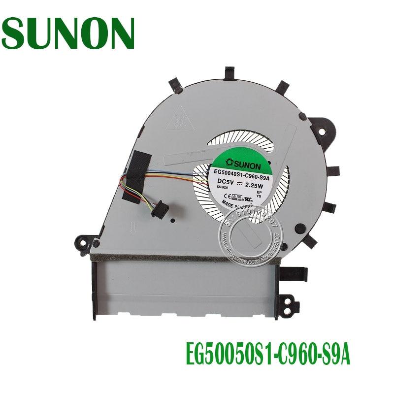SUNON CPU COOLING FAN FOR ASUS U4100 U4100UQ UX430 EG50040S1-C960-S9A DC5V