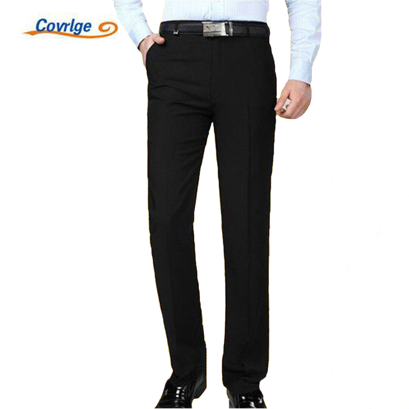 Covrlge Men Pants 2017 Winter Male Commercial Loose Casual Business Trousers Mens Clothing Straight Fluid Man Pants MKX004
