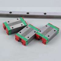 2pcs 100% original HIWIN linear rail guide EGR25 L 2000mm + 4pcs EGH25CA linear block CNC router