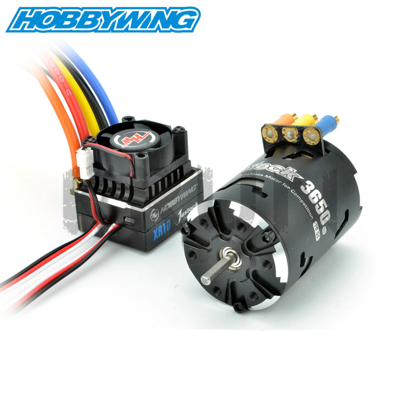 Hobbywing XeRun Justock 3650SD 13 5T 17 5T 21 5T Motor XR10 Justock 60A Power System