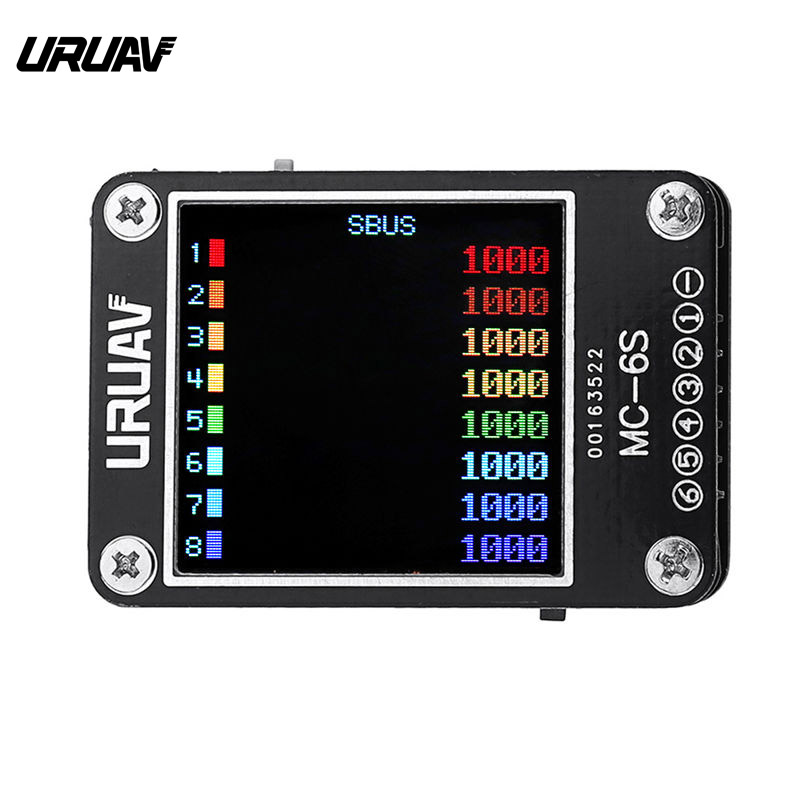 URUAV MC-6S 1-6S Lipo Battery Voltage Checkers Receiver Signal Tester For RC Models Multicopter Spare Parts Accessories