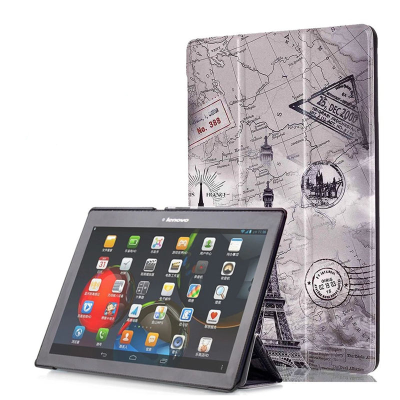 PU Leather Cover Stand Case For Lenovo Tab 10 Tab10 TB-X103F 10.1