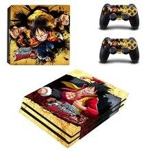 Anime One Piece Luffy PS4 Pro Skin Sticker Vinyl Decal Sticker