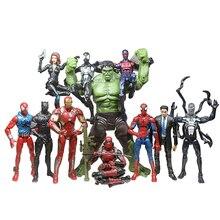 Marvel Avengers Alliance 3 Iron Spiderman,Captain America ,Deadpool Marvel Legends Action Figure Toys Christmas New Year Gift