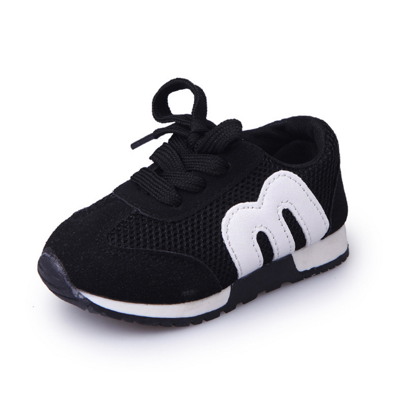 New Spring Children Sport Sneakers Kids Soft Letter Breathable Running Shoes Girls Boys Loafers Toddler Shoes Enfant Chaussure mhyons 2018 new children s soft bottom toddler shoes boys and girls casual shoes garden shoes solid color breathable casual shoe