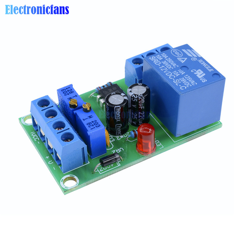 XH-M601 Battery Automatic Charging Control Board 12V Charger Power Supply Module