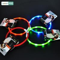 Flashing LED Pet Dog Supplies Collar USB Charging Puppy Small Dog Cat Collars Glowing Lighting Dgg