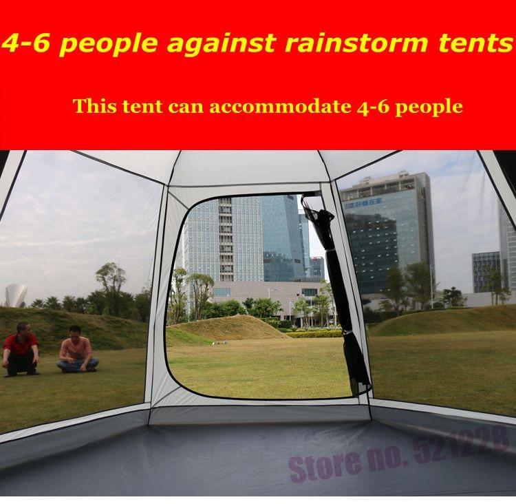 5 6 pessoa anti chuva lona à