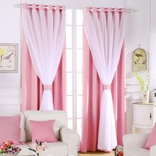 House Curtains Blackout Drape Elegant Roman Blinds Curtain Soundproof Bedroom Window Treatments Partition Kitchen
