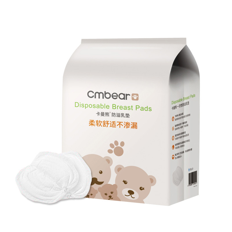 CMbear 108pcs/Pack Disposable Breast Pads Super Soft Absorption Nursing Pad For Mummy Bresat Feeding No Leakage Good Quality