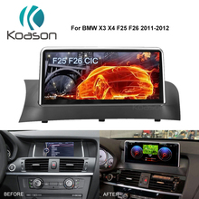 Koason Android 9.0 Car Video Stereo Multimedia Player Auto Video for BMW X3 F25 X4 F26 2013 - 2017 NBT Vehicle GPS Navigation все цены