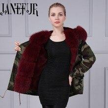 Parkas For Women Winter 2016 Abrigos Mujer New Retro Fox Fur Hooded Down Jacket Warm Padded Coat