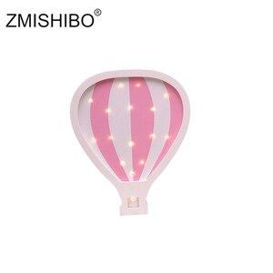 Image 4 - Zmishibo目を引く夜の光の女の子スタイル城ケーキ車虹子供ランプキッズベビー寝室ホーム装飾照明