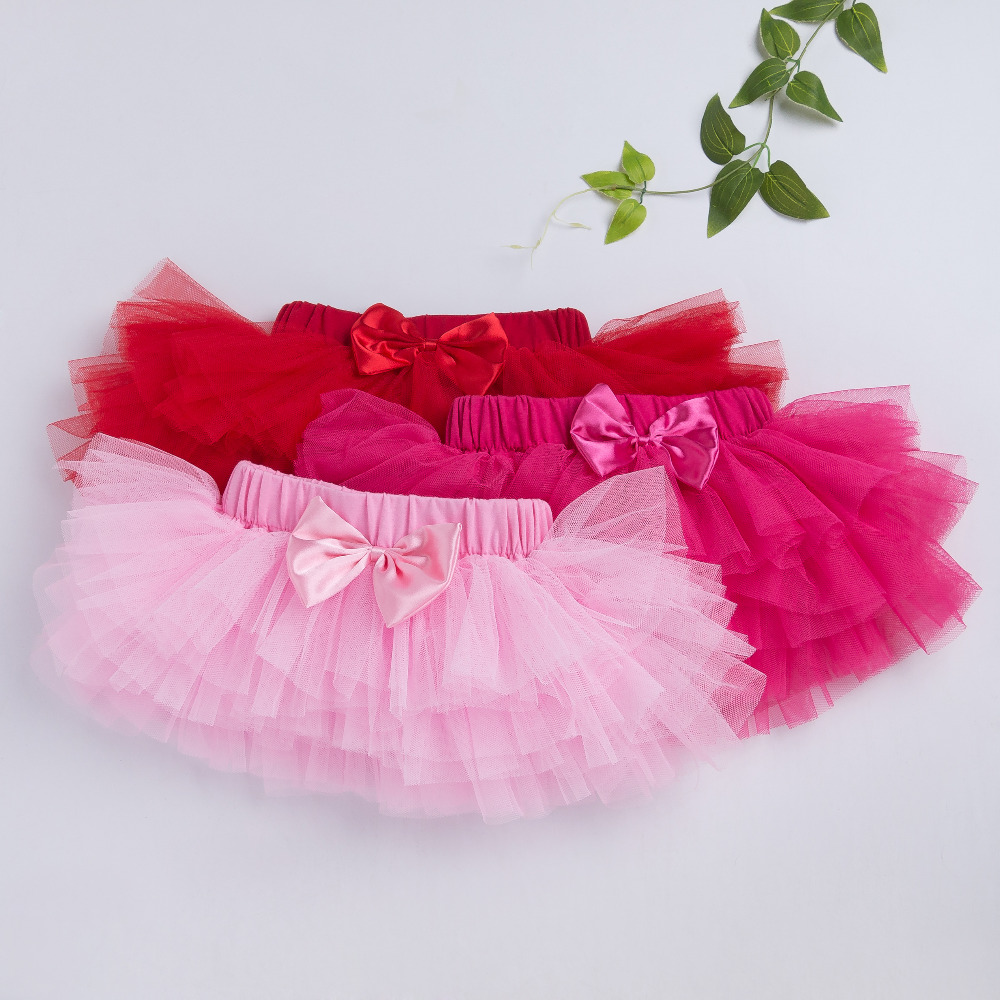 Pettiskirt-Baby-Girls-3-Colors-Tutu-Skirt-Rose-Red-Newborn-Chiffon-6-layer-Skirts-Infant-Girls-Birthday-Party-Clothes-3