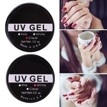 Estenda a extensão uv do prego gel construtor arte não-tóxico moda maquiagem para mulher cristal gel ferramenta de extensão do prego suprimentos de unhas