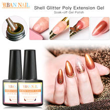 RBAN NAIL 7ml Nails Extension Gel Builder Primer Manicure Set Base Top Semi permanent UV Nail Polish Gellak lacquer