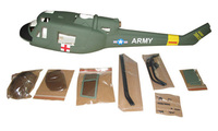 Uh 1 UH 1N UH1A 450 Scale Fuselage For 450 Size Helicopters Fuselage Wholesale P2