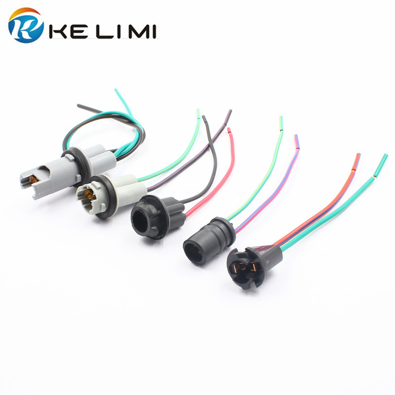 In Many Styles 10pcs Hospitable Kelimi T10 W5w 194 168 T15 Led Bulb Holder Socket Connector Plug Pre-wired T10 Lamps Adapter Adaptador