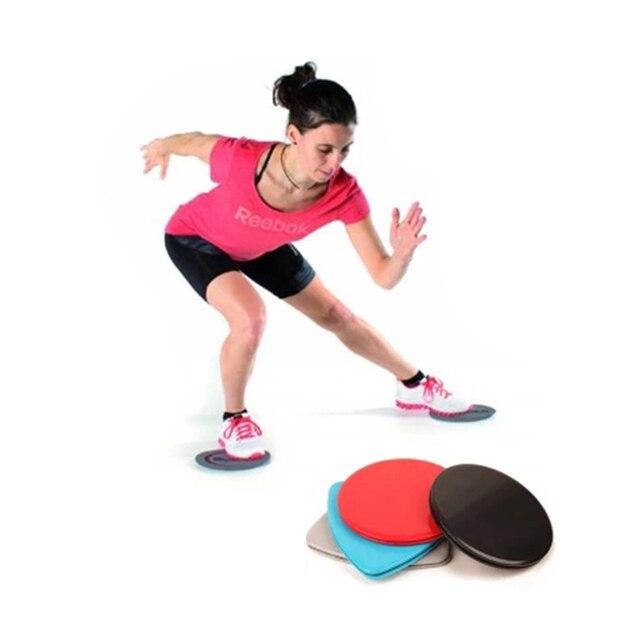 1 Pair Sport Workout Gliding Slide Discs Fitness Gliders Gym Slider