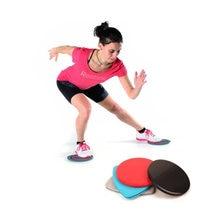 1 пара спортивные тренировки скользя слайд диски Фитнес планера