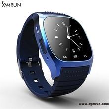 Symrun Neue Bluetooth Smart Uhr M26 Smartwatch Mit Zifferblatt/Alarm/Musik-player/Schrittzähler Sport Smart Uhr