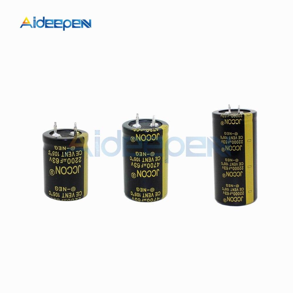 Range of Radial Electrolytic Capacitors 22uF-10000uF 16V 105C