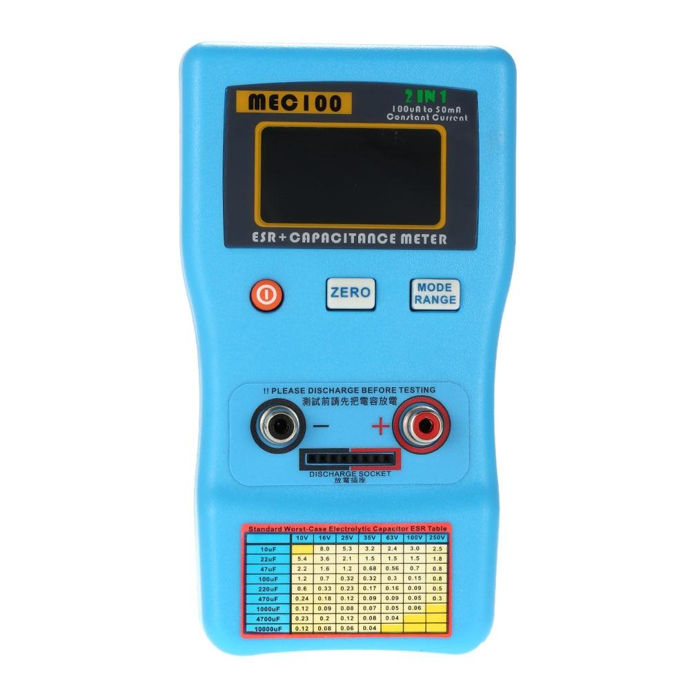 2018 2 in 1 digital auto ranging capacitor esr meter quality rh dhgate com