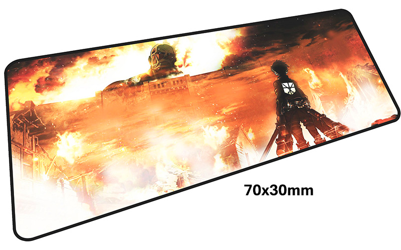 Attack on Titan mousepad gamer 700x300X3MM gaming mouse pad Armin Arlert notebook pc accessories laptop padmouse ergonomic mat