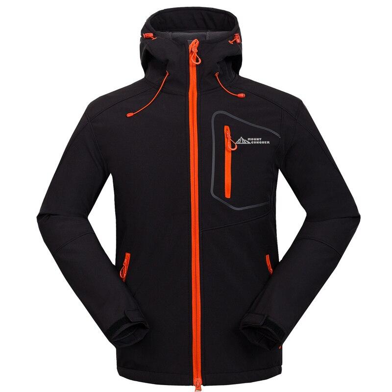 Крепление покорить Для мужчин Пеший Туризм куртка флисовая Термальность куртка открытый пиджак мужской износостойкая Термальность Кемпинг Велоспорт