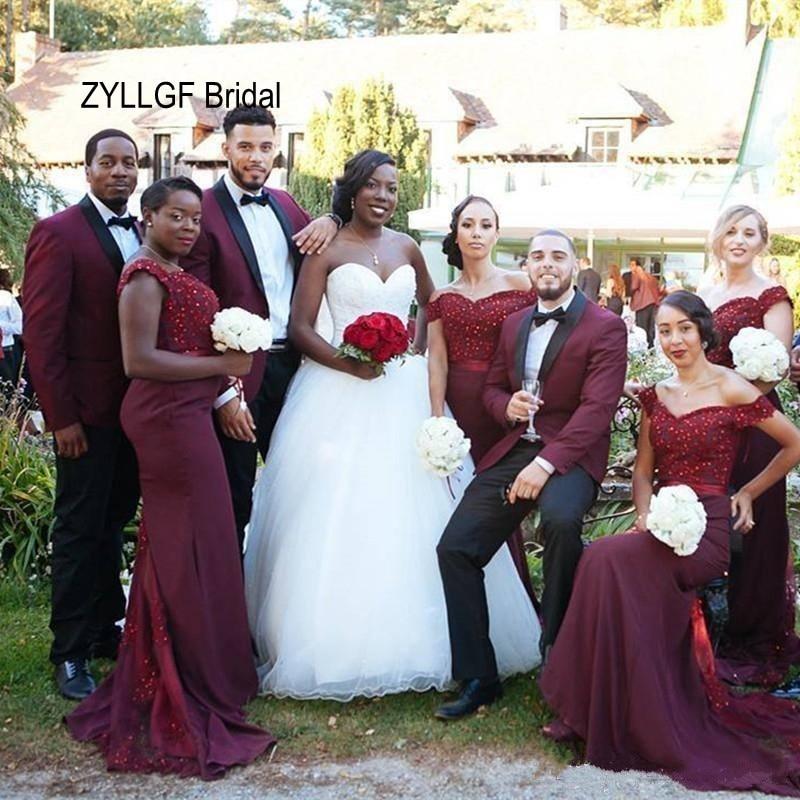 Nigrian Bridal Wedding Dresses: ZYLLGF Bridal Mermaid Sweetheart Off Shoulder Beaded