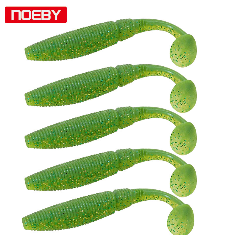 Noeby Soft Lures 6 ədəd 8.5sm 10 sm Pesca Shad f yemi UL Balıq ovu - Balıqçılıq - Fotoqrafiya 3