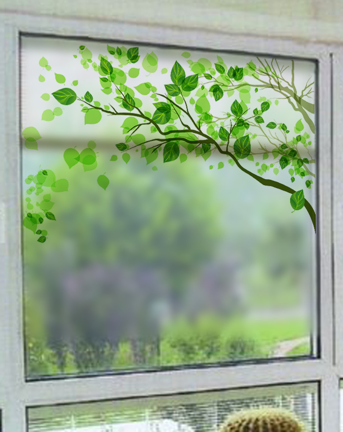 Frosted Glass As Bedroom Window