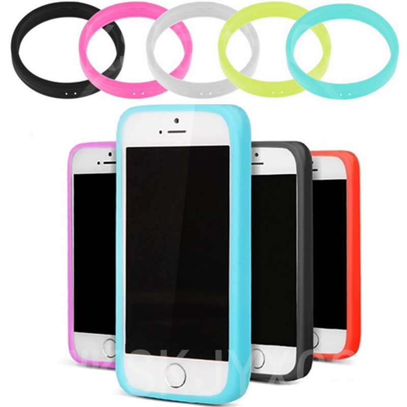 Soft Silicone Bumper Frame Case Cover Side protection For Alcatel One Touch Pixi 3 4.0 4013 4050 4013X 4013D 4050X Case