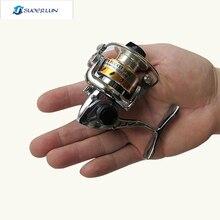MINI Small fishing reels,4.3:1, Left/Proper Mini Spinning Reel ,fly fishing,Ice Fishing,spinning reel,Metallic