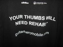 """""""Guitar Hero Mobile"""" T-Shirt"""