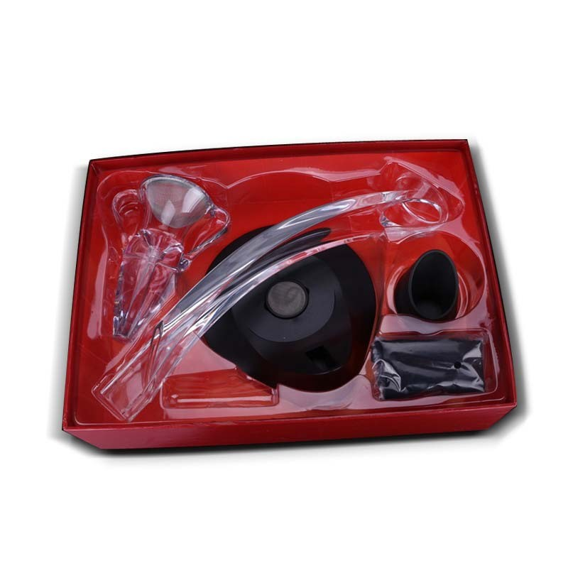 1 Set Red Wine Aerator Acrylic Magic Jigger Quick Awakeners Drink Dispenser Aerating Wine Glass Decanter Wine Accessories (1)