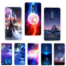 For LG K11 Phone Case Carton Starry Sky Moon Space Painted Soft Cover For LG K11 2018 K 11 2018 LGK11 Cases Fundas Capa Coque(China)