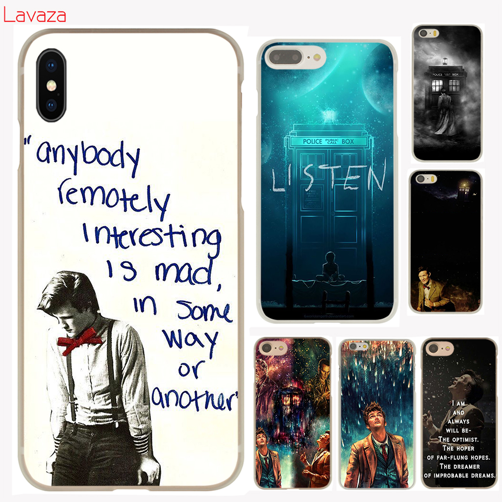 Lavaza Doctor Who Hard Phone Case for Apple iPhone X 10 8 7 6 6s Plus 5 5S SE 5C 4 4S Cover Coque Shell