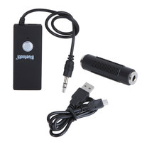 3 5mm Wireless Bluetooth Stereo Audio Music Dongle Receiver Adapter Connector For IPhone IPad Hifi IPod