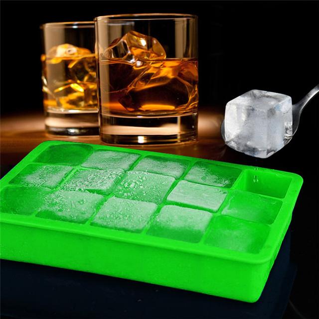 Square Shaped Ice Cube Mold Tray