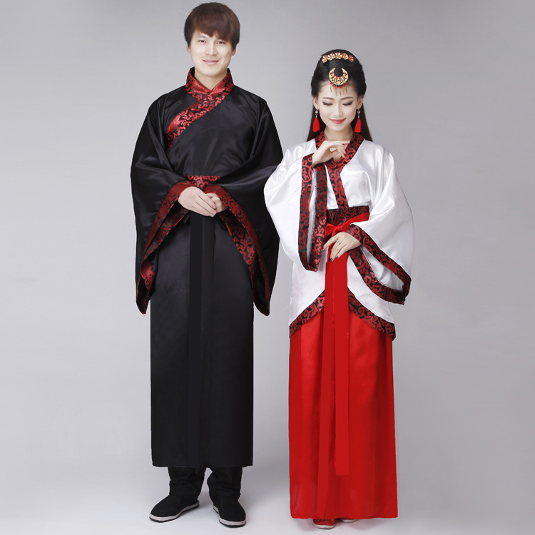 traditional folk dance costumes hanfu costume han dynasty man clothes ancient chinese clothing women tang traje chino dress